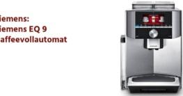 Siemens EQ 9 Kaffeevollautomat