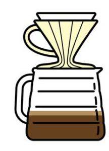 Kaffee Handfilter