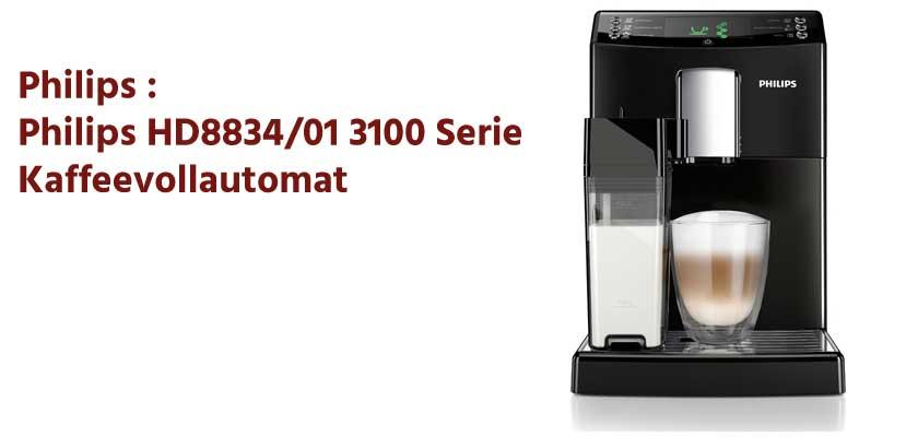 Philips HD8834/01 3100 Serie Kaffeevollautomat