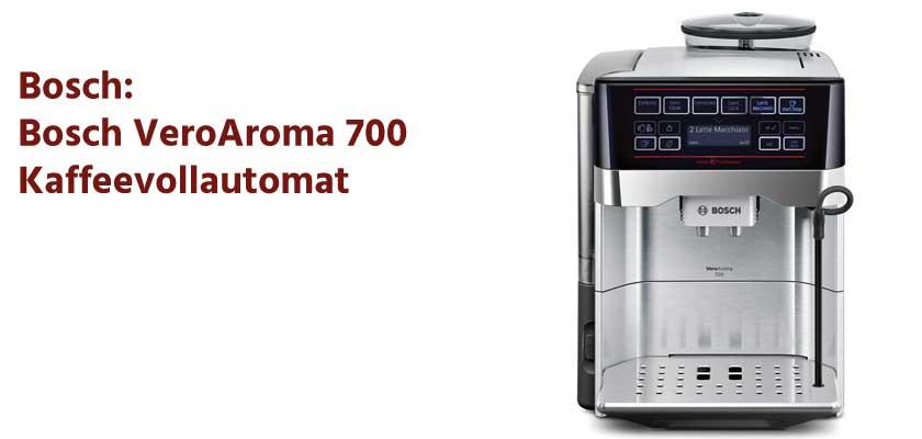 Bosch VeroAroma 700 Kaffeevollautomat