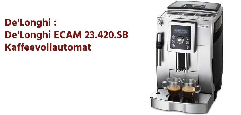 De'Longhi ECAM 23.420.SB Kaffeevollautomat