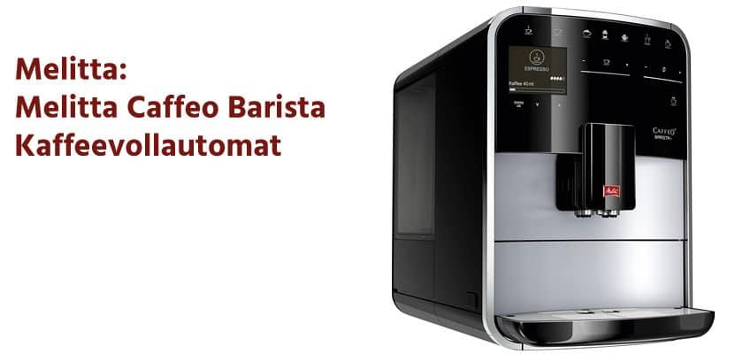 Melitta Caffeo Barista