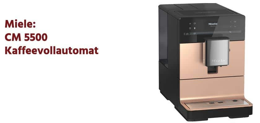 Miele-CM-5500 Kaffeevollautomat