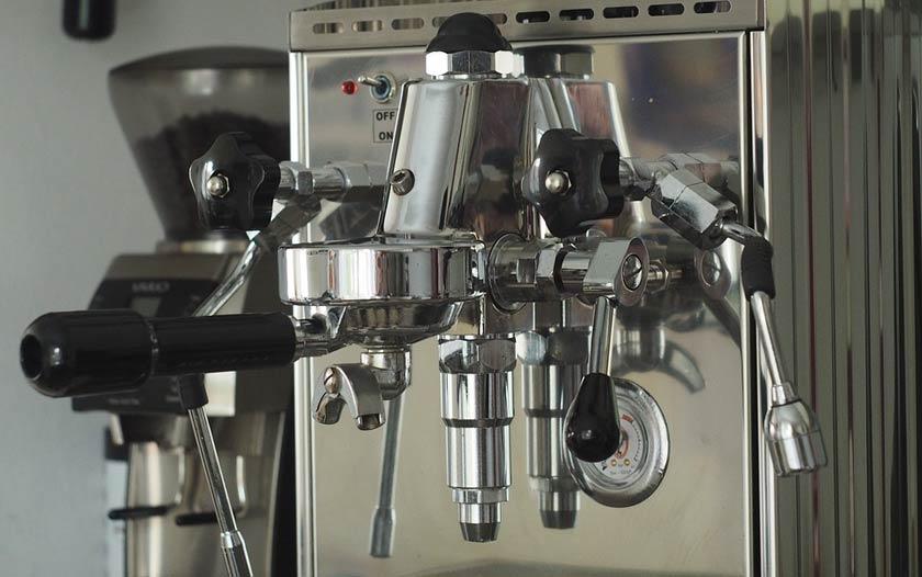 Espressomaschine Detail