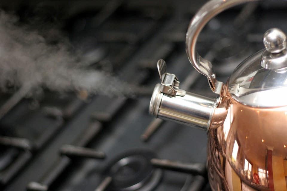 Wasserkocher für heißes Wasser