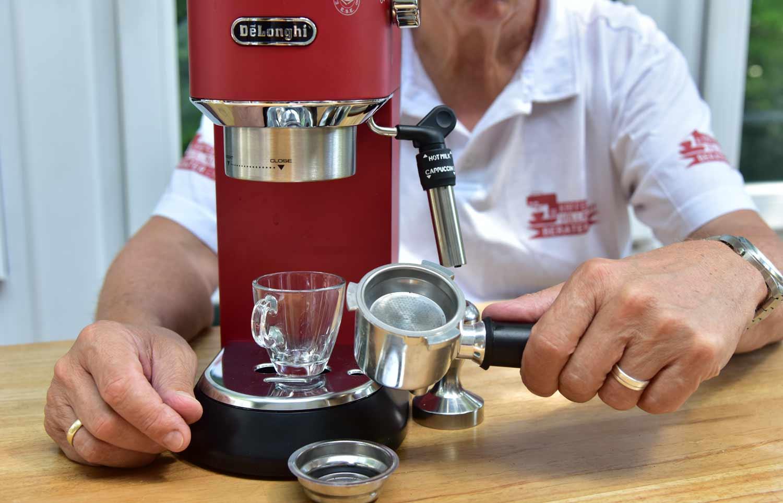Delonghi Kaffeemaschine Mahlwerk Einstellen : ᐅ de´longhi ec 685 test 2019 dedica siebträgermaschine