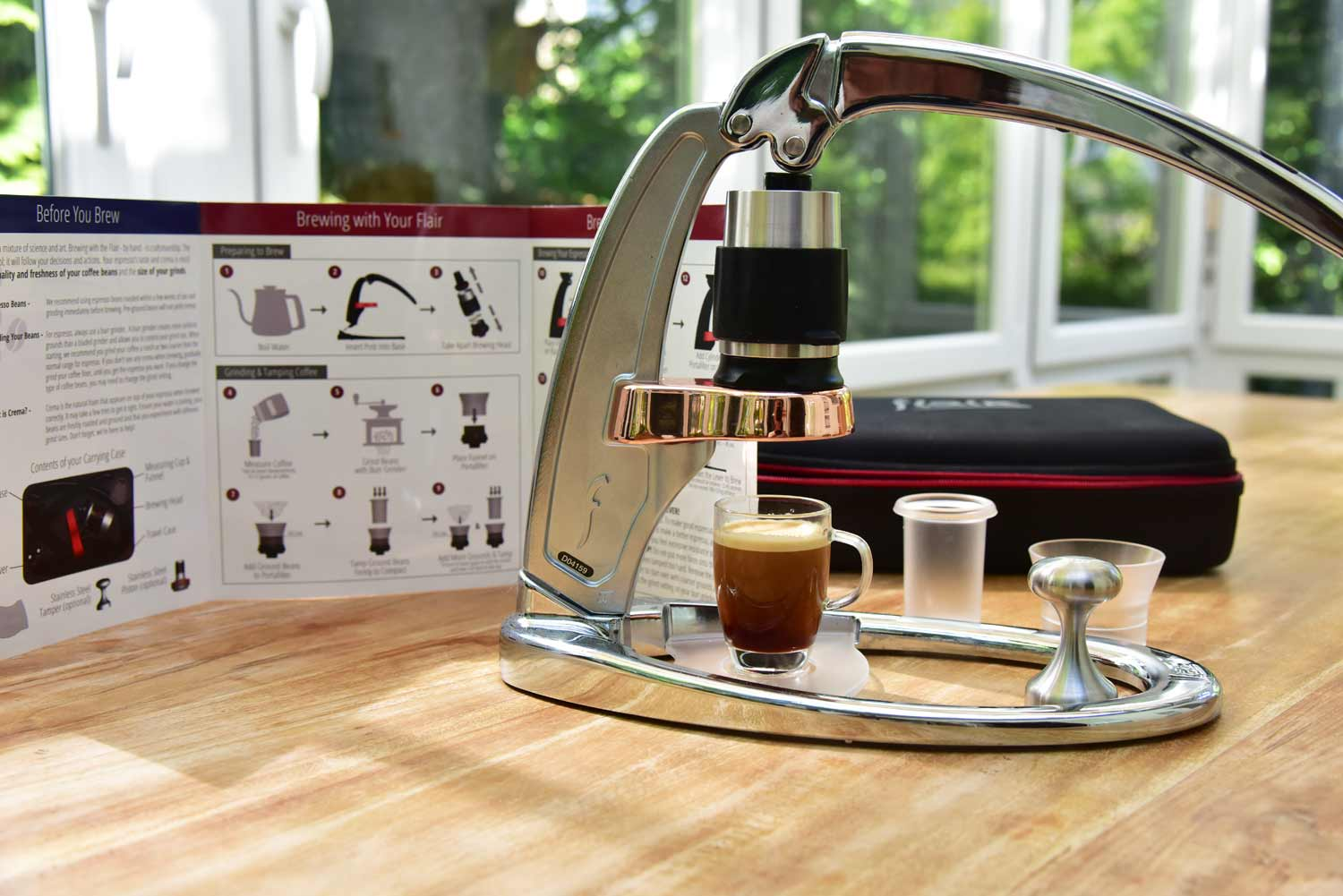 flair espresso maker test kaffeevollautomat berater. Black Bedroom Furniture Sets. Home Design Ideas