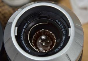 Graef CM800 Edelstahl-Kegelmahlwerk