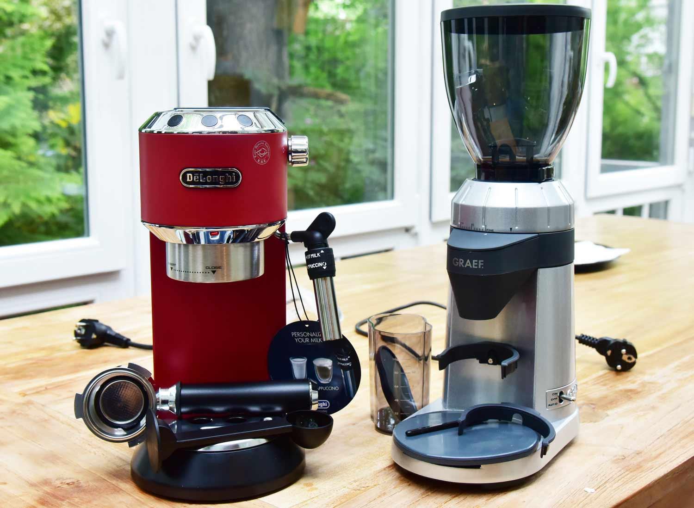Test Espressomaschine & Kaffeemühle