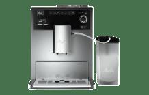 MELITTA E 970-101 Caffeo CI Kaffeevollautomat Silber (Stahl-Kegelmahlwerk, 1.8 l Wassertank)