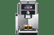 SIEMENS TI909701HC EQ.9 connect s900 Kaffeevollautomat Edelstahl (Keramikmahlwerk, 2.3 l Wassertank)