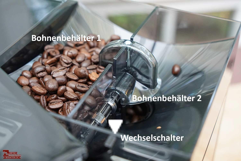 Melitta-CI-Touch Bohnenfach