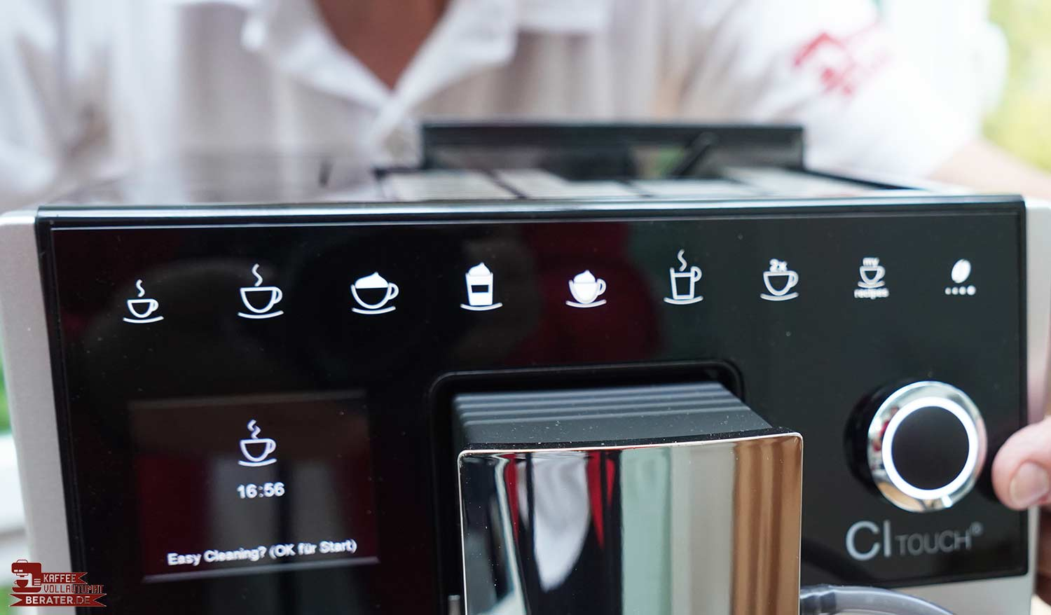 Melitta-CI-Touch Display in Farbe
