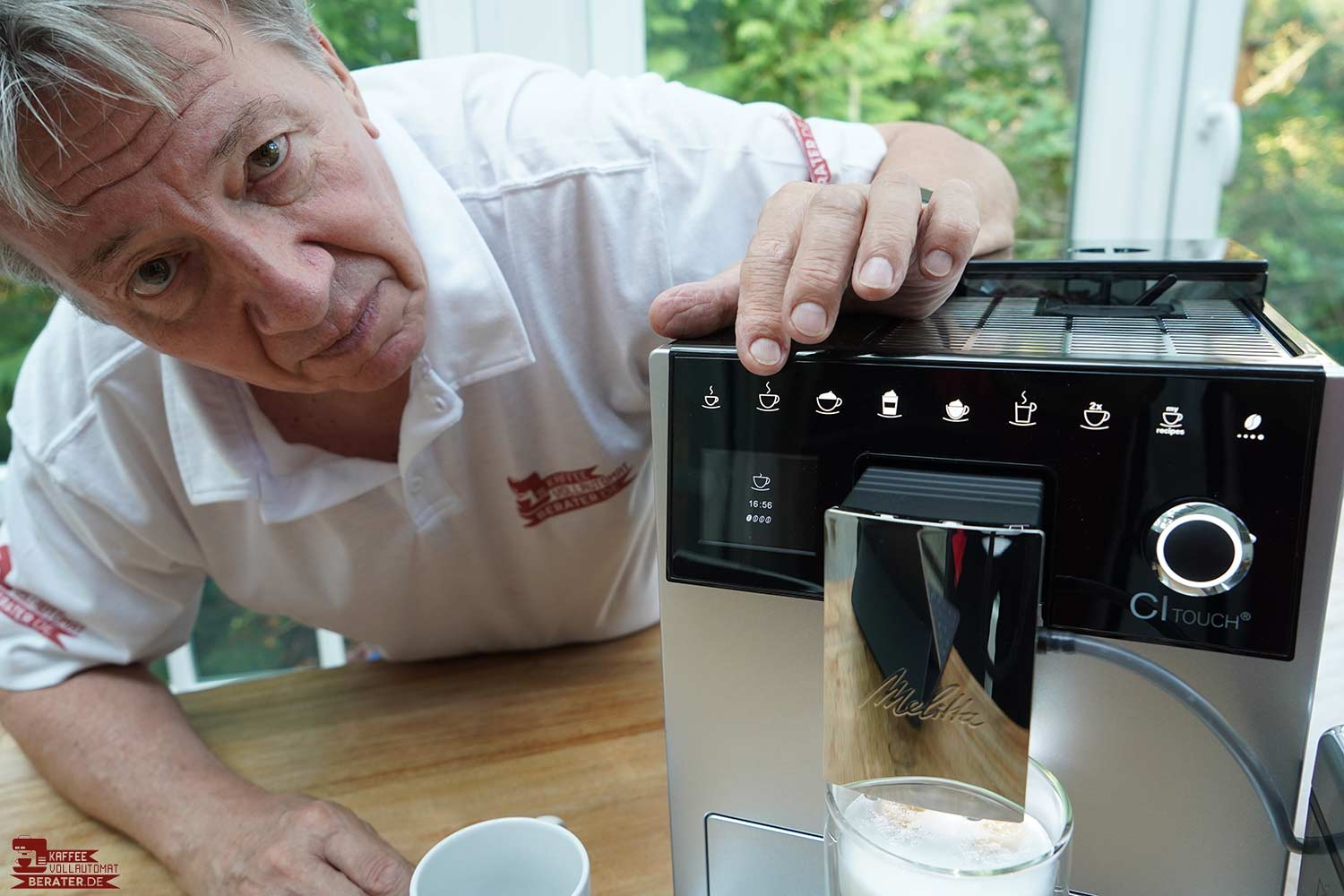 Melitta-CI Touch - kein echtes Touch Display