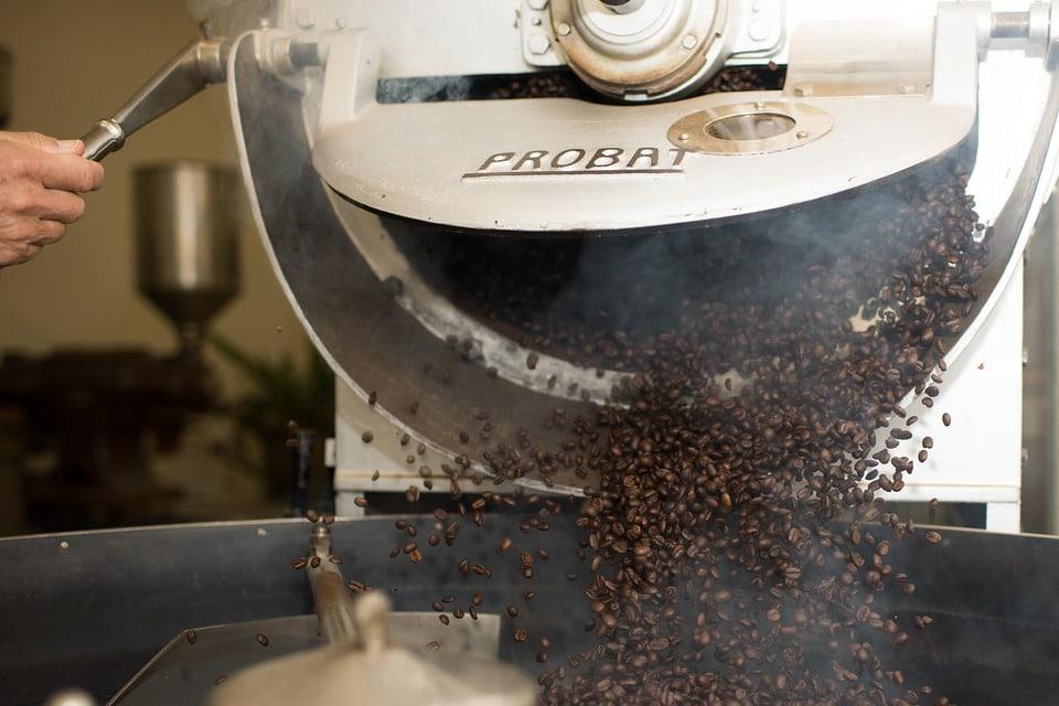 Kaffee Trommelröstung