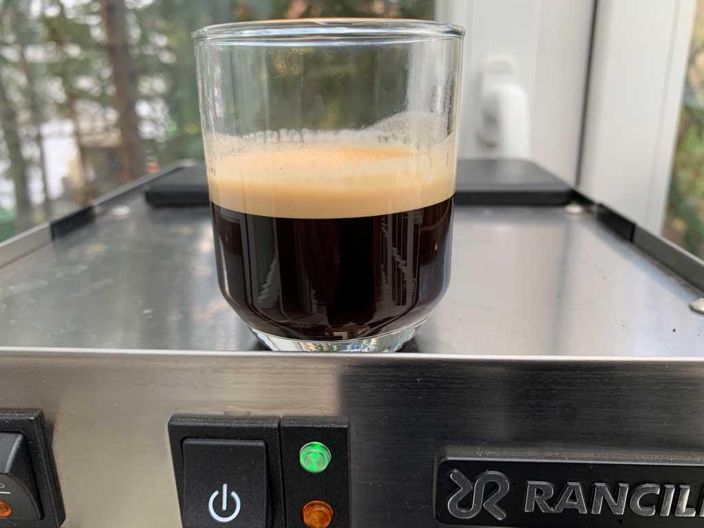 Rancilio-Silvia ein perfekter Espresso mit super Crema