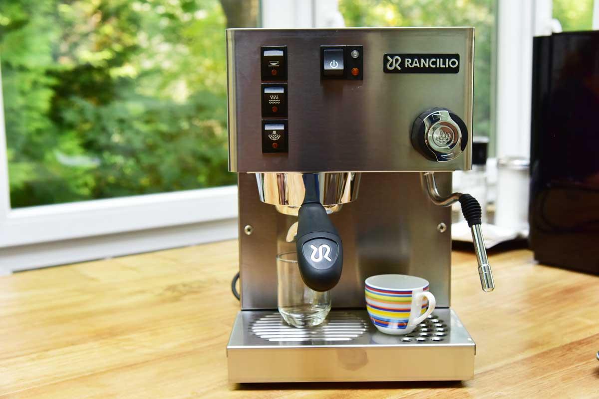 Rancilio-Silvia Espressomaschine