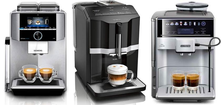 3 Siemens Kaffeevollautomaten