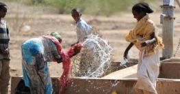 Äthiopien Brunnen mit Frauen