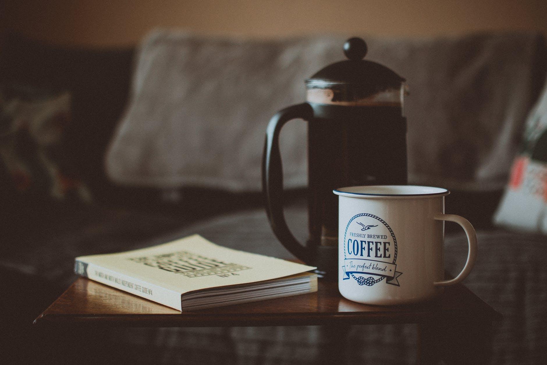 French-Press: Kaffee genießen