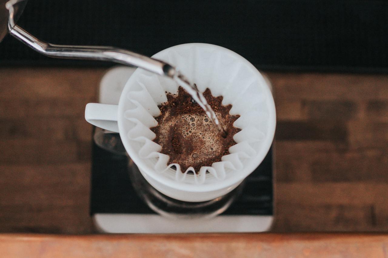 Kaffeefilter Test