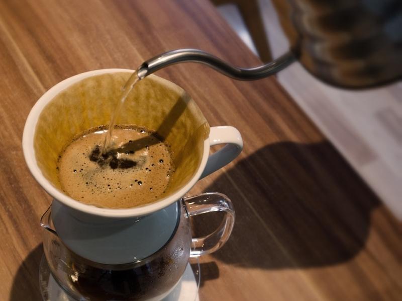Wasserkessel für Filterkaffee