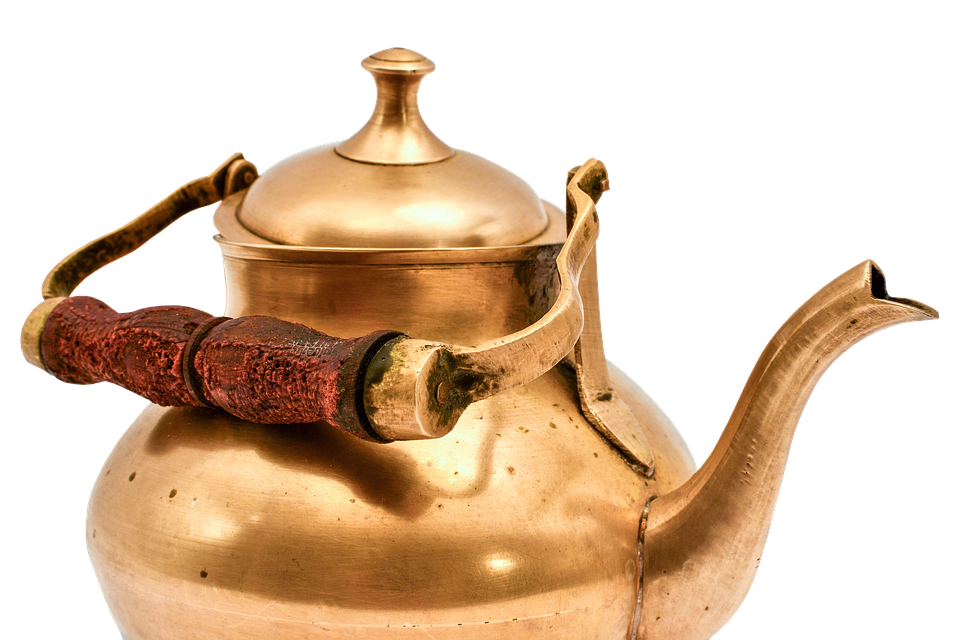 Wasserkessel-Kupfer