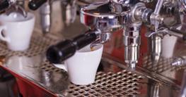Handhebel Espressomaschine