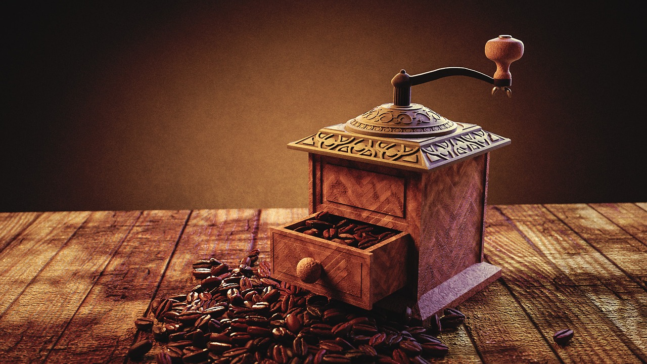 manuelle Kaffeemühle