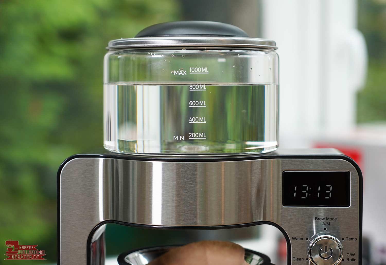 Beem-Pour-Over: Wassermenge