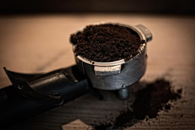 Kaffeesatz Abklopfbehälter Test