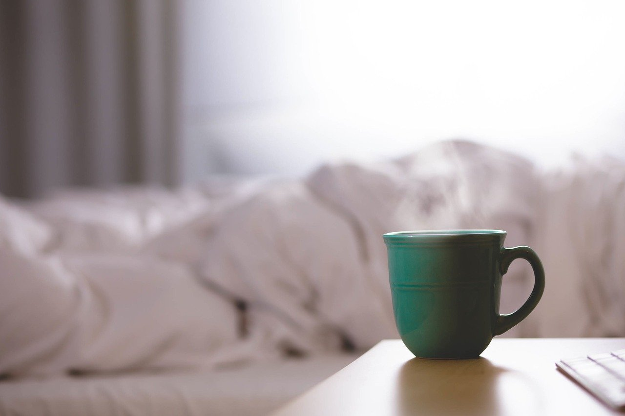 koffeinfreier Kaffee vorm schlafen gehen