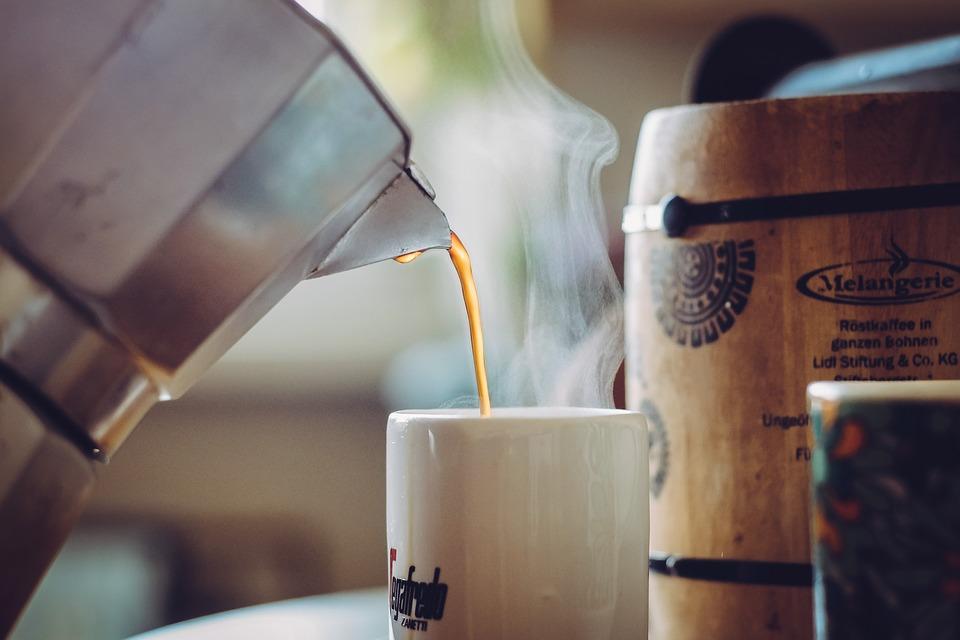 Kaffee kann schlecht werden