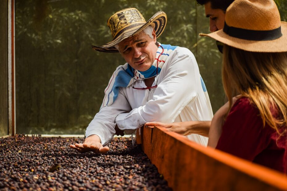 Kaffeebauer und Kaffee-Landwirte