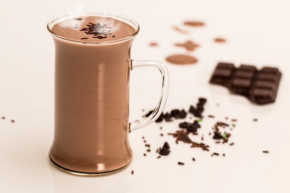 Kakao aus Kaffeevollautomat