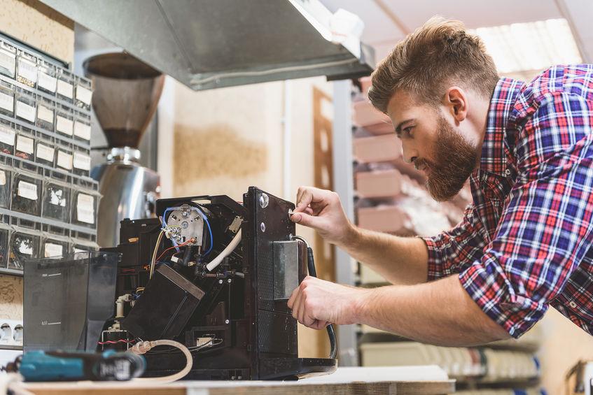 Kaffeevollautomat Reparatur