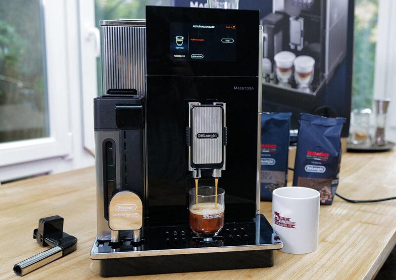 Espresso Bezug aus dem Maestosa
