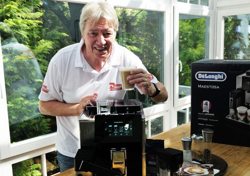Maestosa Kaffeevollautomat von DeLonghi im Überblick